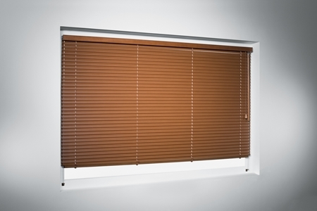 produkt - 25 mm / 50 mm aluminium - wood effect venetian blinds